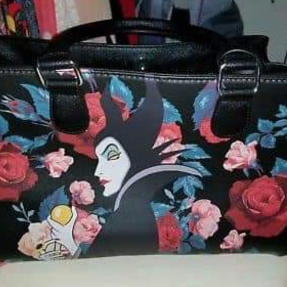 5954d6cd121 loungefly Handbags - Disney maleficent purse